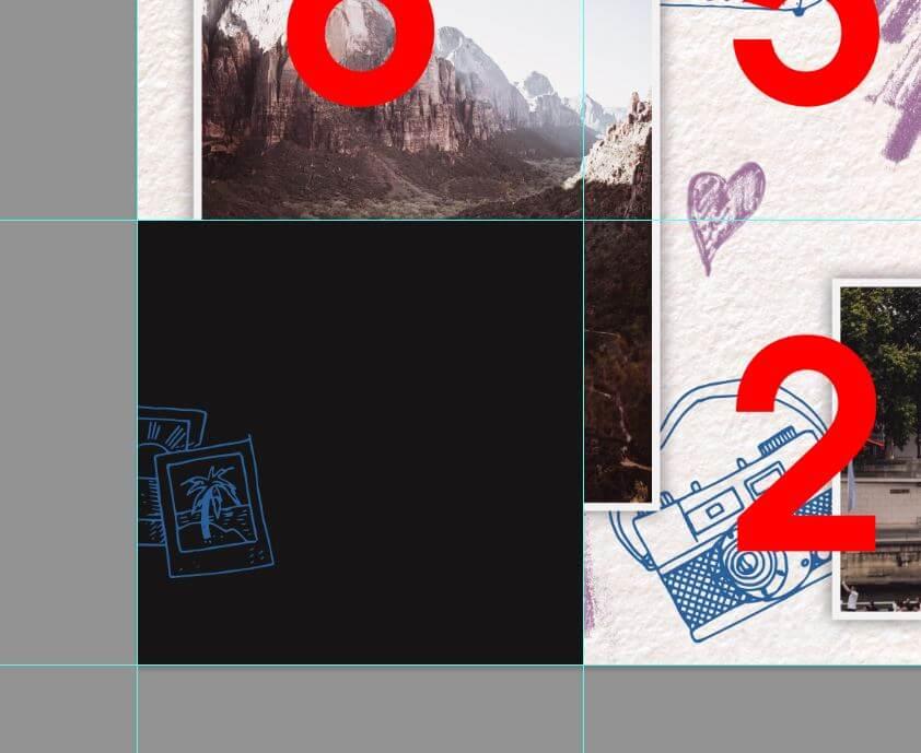 Картинка как сделать единую ленту в инстаграме