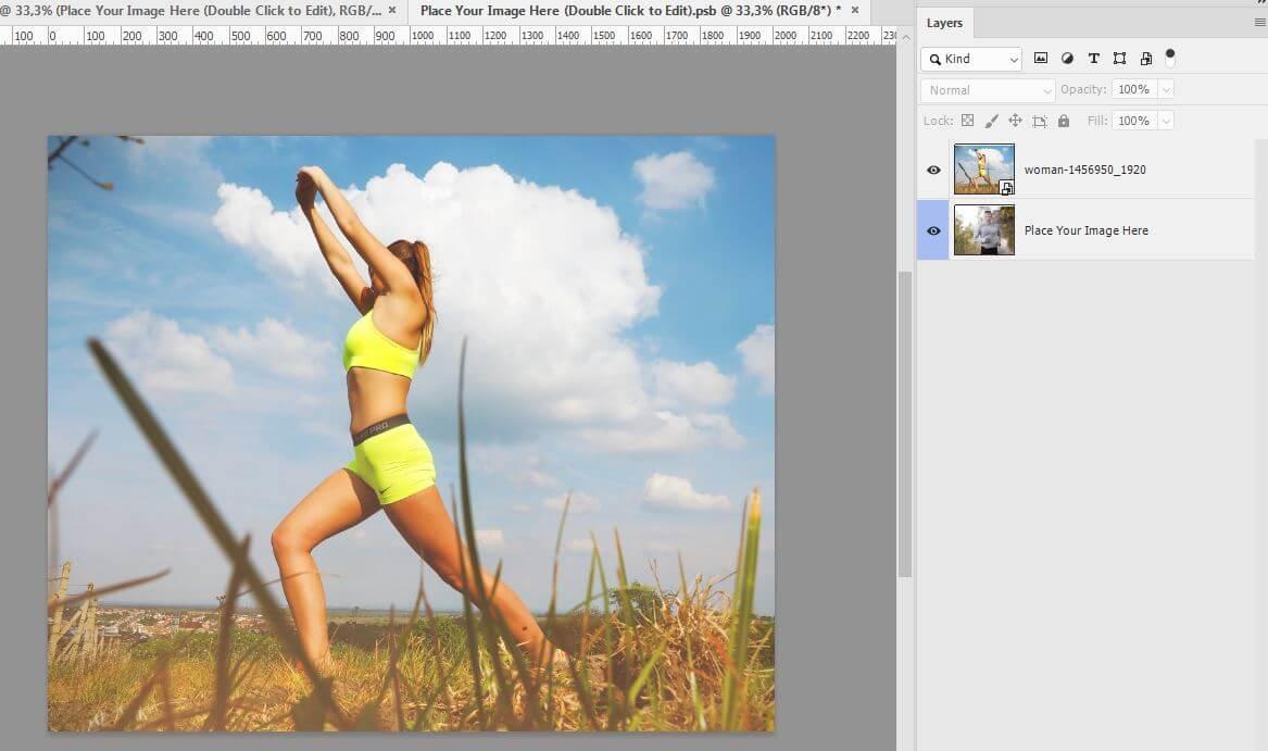 Картинка как вставить фото в шаблон для инстаграм