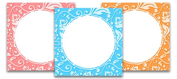 Картинка с круглым фон для инстаграм