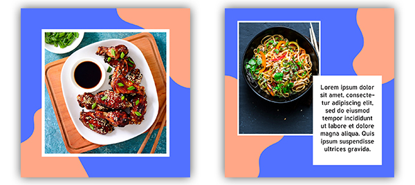 Картинка - шаблоны для инстаграм psd китайский ресторан