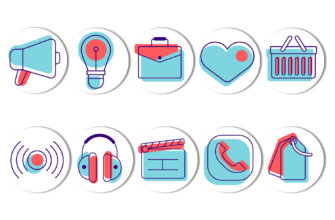 Картинки на иконки багаж и сумки с сердцем на фон для хайлайтс в инстаграм