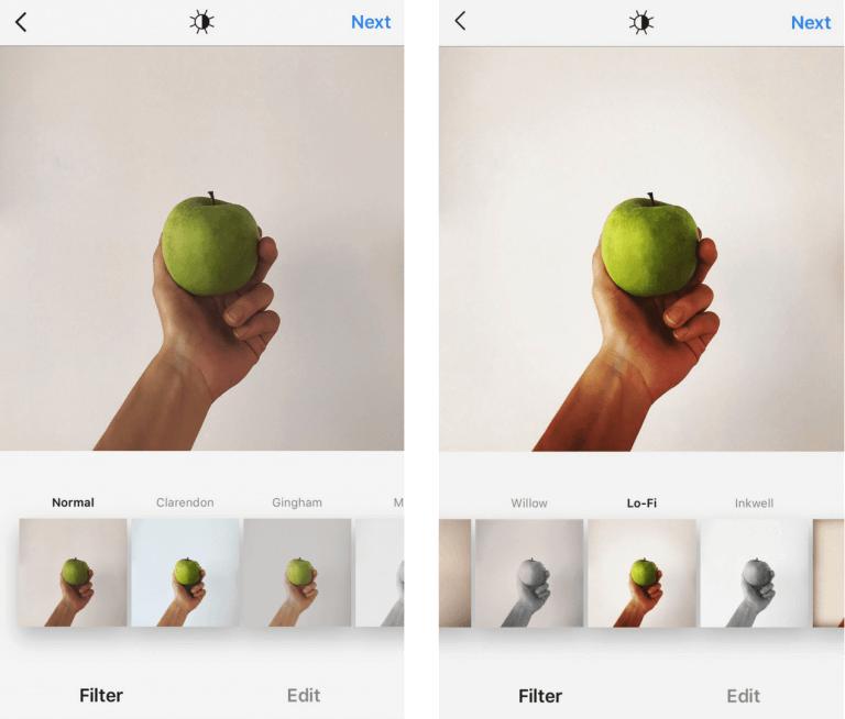 Фотография как сделать фильтр Lo-fi