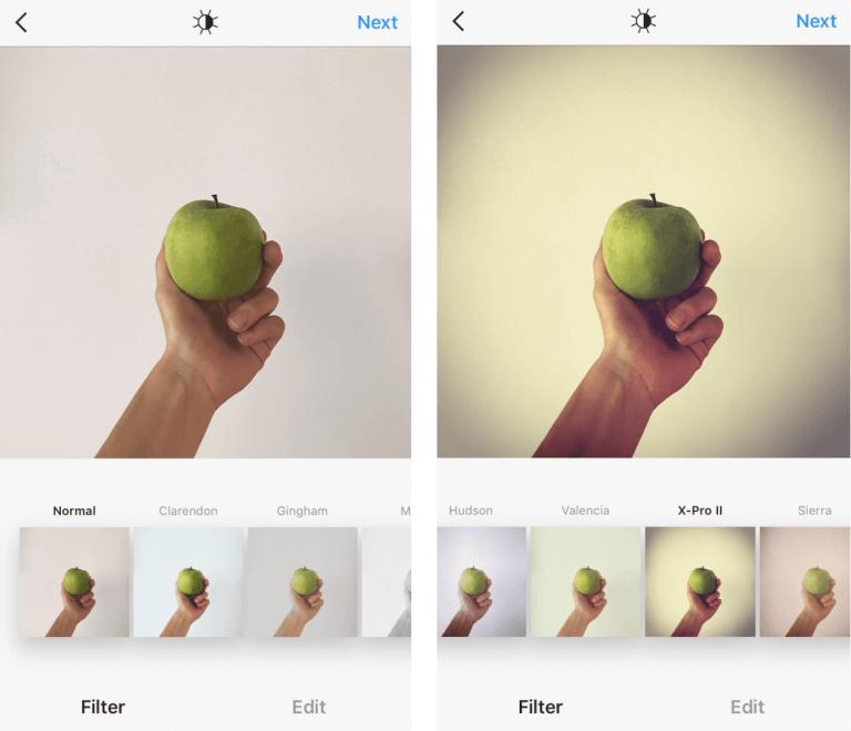 Фото как использовать фильтры X-Pro II в инстаграме на фото