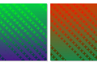 Красочный графический дизайн: яркие фоны для инстаграм зеленого, голубого, желтого и оранжевого цвета
