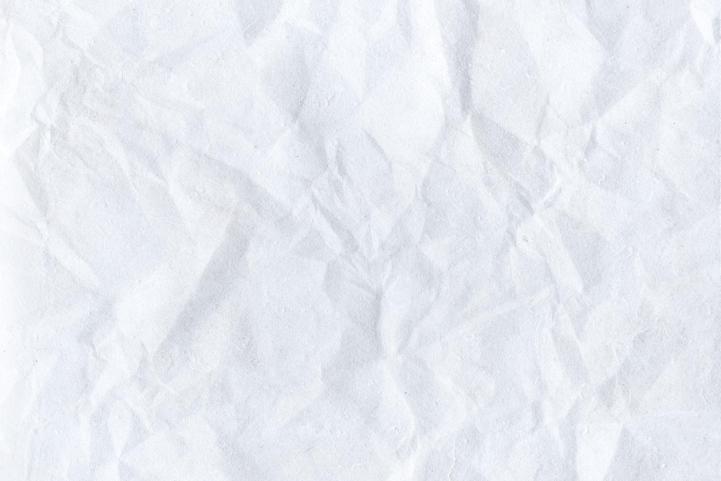 Фотография белая текстура мятой бумаги для фотошопа