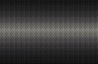 Картинка чёрная текстура сетки из металла с ячейками