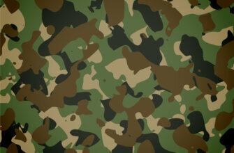 Картинка зелёный фон для фотошопа камуфляж армейской одежды с чёрными и коричневыми пятнами