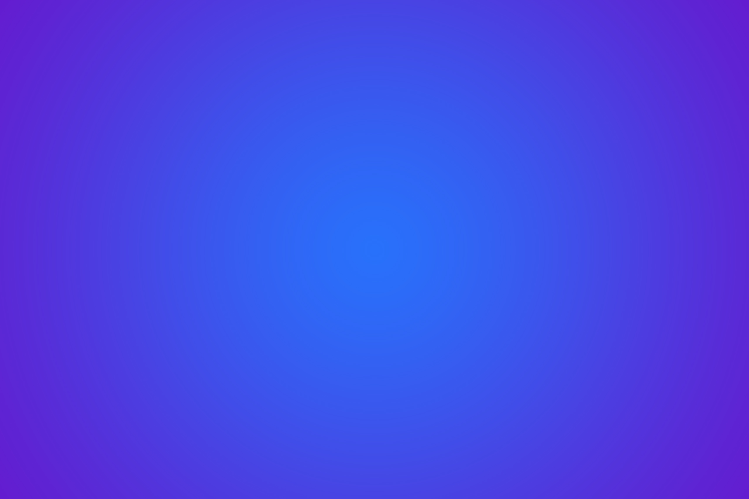 Синий фон с фиолетово-голубым градиентом.