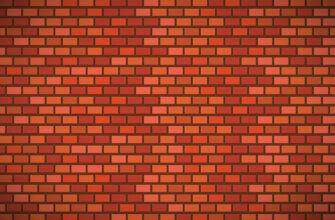 Картинка оранжевый фон для фотошопа кирпичная стена симметричной кладки
