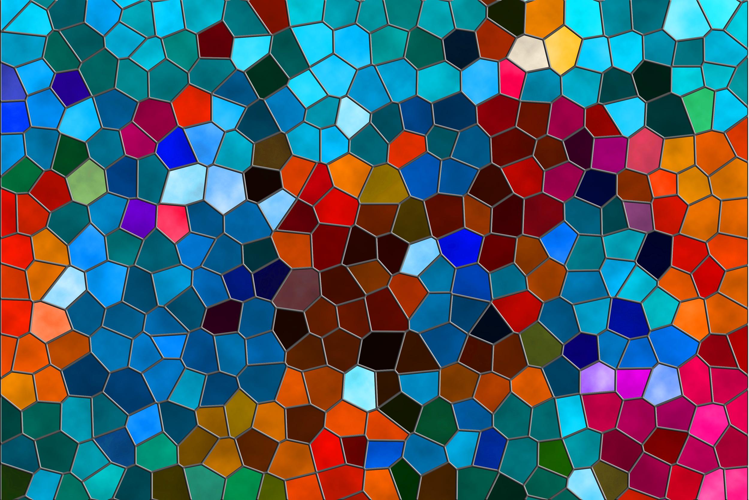 Картинка разноцветная текстура мозаики из стекла