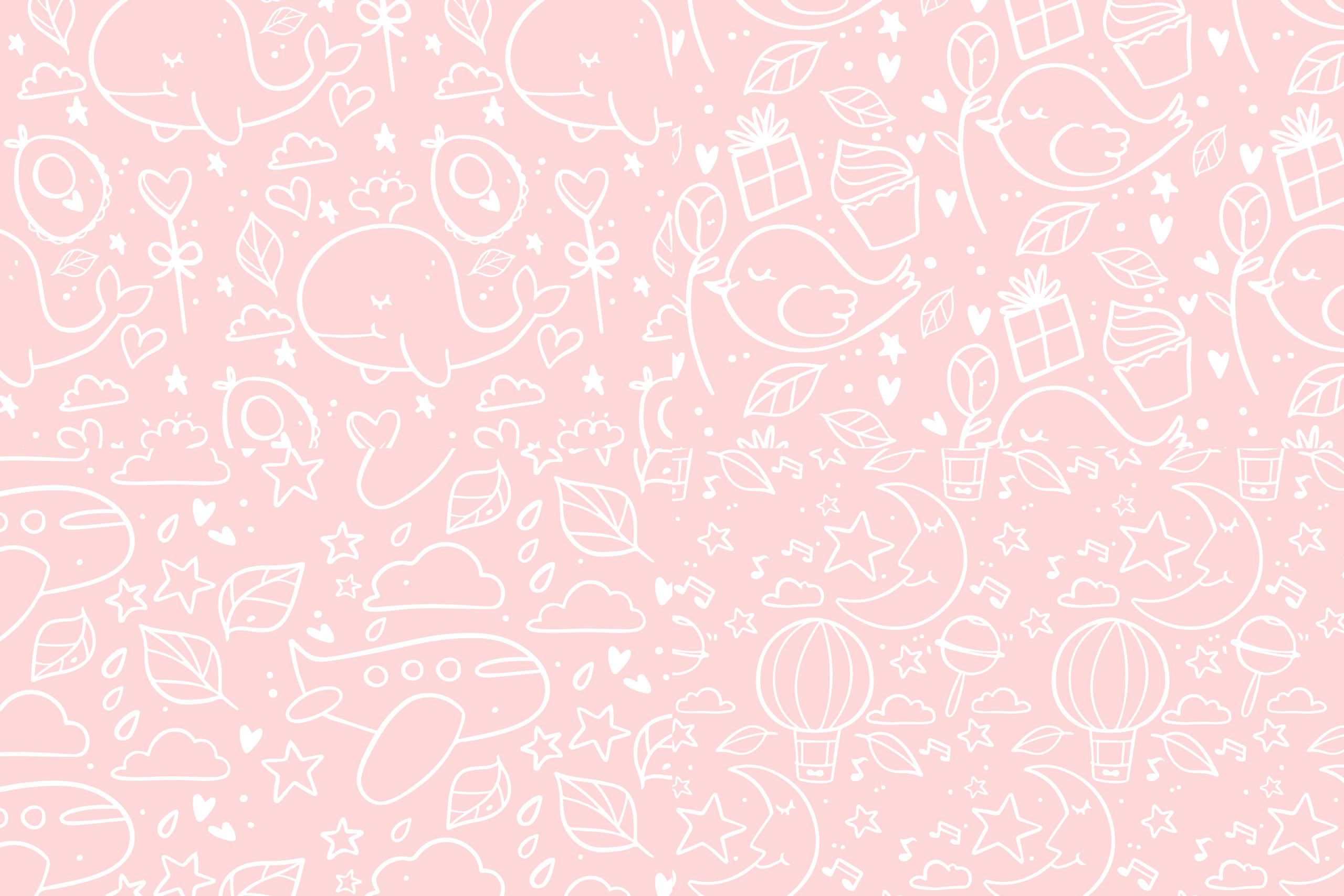 Картинка светло розовый фон для фотошопа детской тематики