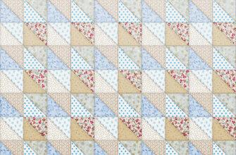 Картинка бежевая текстура одеяло ремесленное из симметричных текстильных треугольников