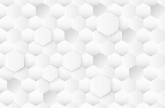 Картинка серо белый фон для фотошопа с симметричными шестиугольными сотами