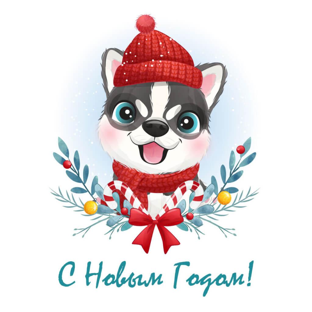 Картинка для детей на новый год