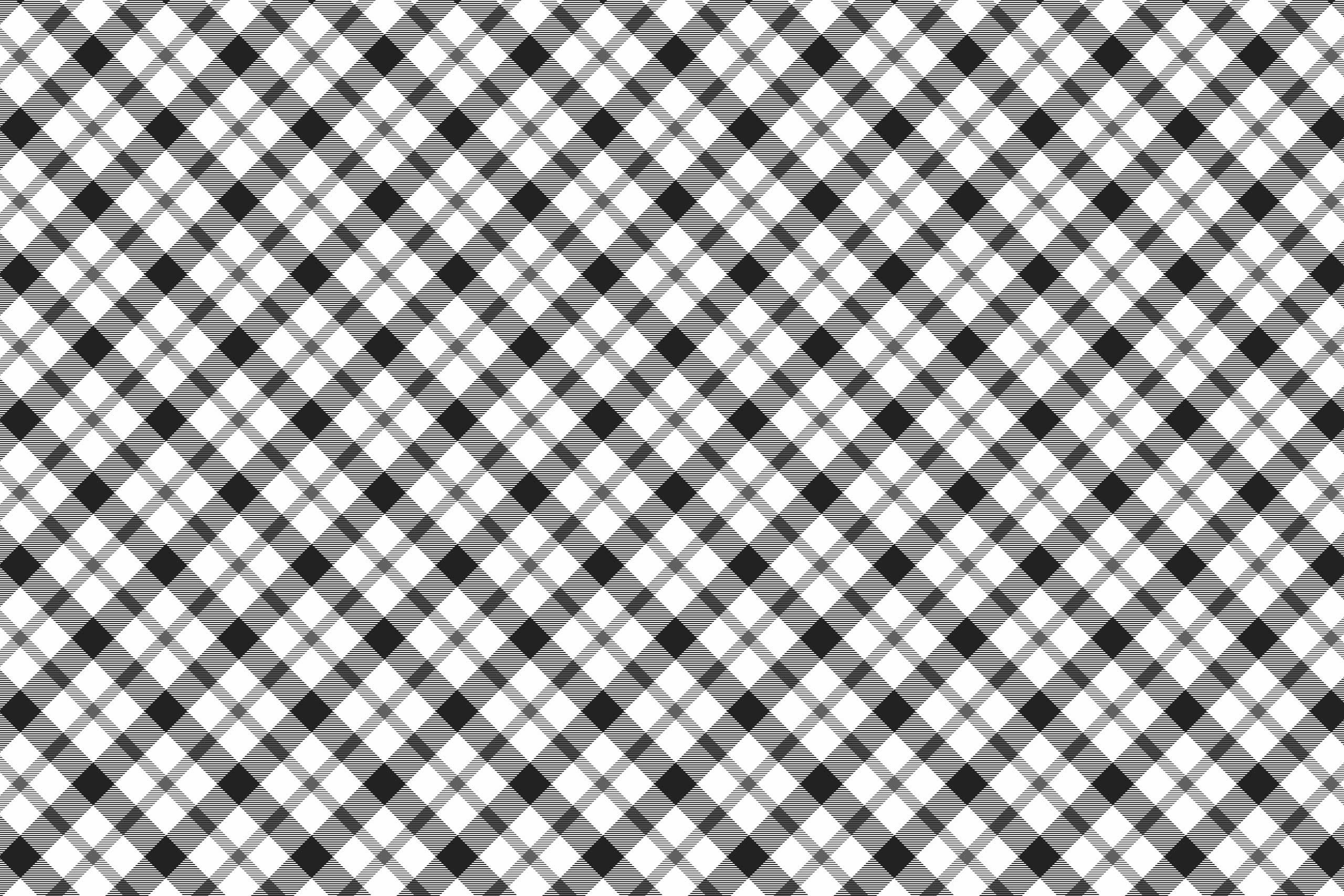 Клетчатая ткань черно-белого цвета.