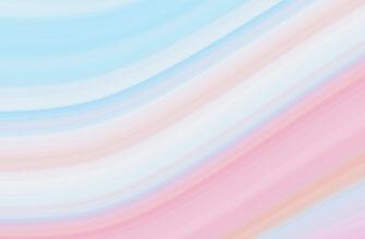 Нежный фон для фотошопа в пастельных тонах линии лазурного и персикового цвета.