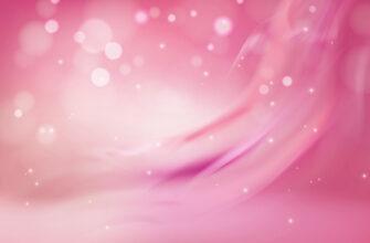 Розовый фон для фотошопа с круглыми белыми каплями.