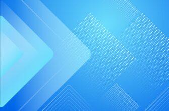 Сине голубой фон для фотошопа симметричные геометрические фигуры.