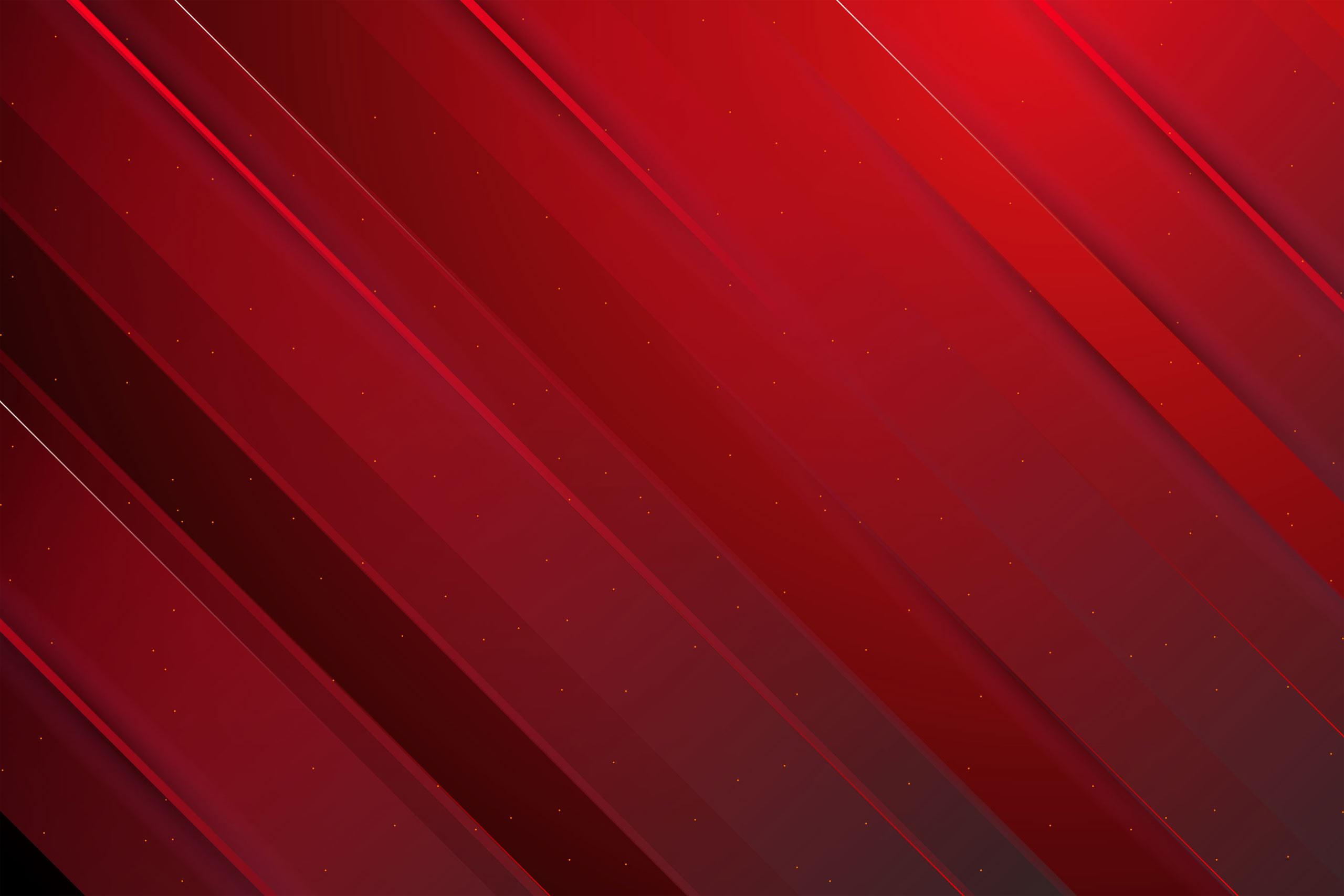 Темно-красный фон с абстрактными полосами.