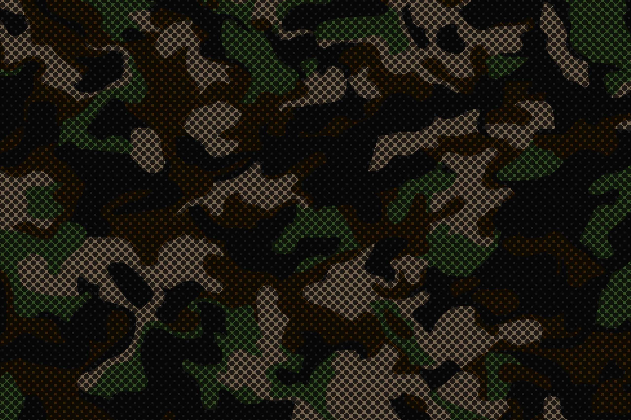 Военный фон серо-зелёного цвета в сетку.